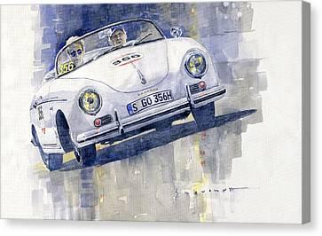 2015 Mille Miglia Porsche 356 1500 Speedster Canvas Print