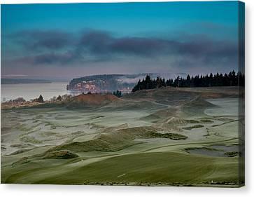 2015 Us Open - Chambers Bay Vi Canvas Print