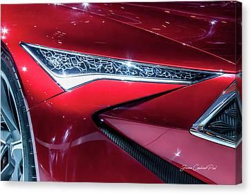 2016 Acura Precision Concept Car Canvas Print