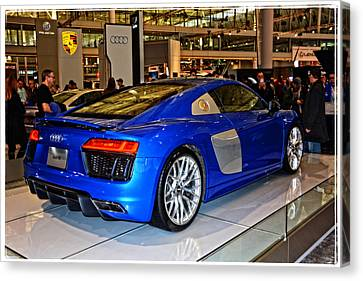 2016 Audi R8 Canvas Print by Mike Martin