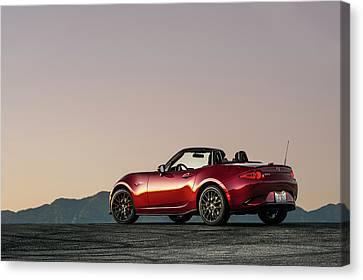 2016 Mazda Mx-5 Miata Canvas Print by Drew Phillips