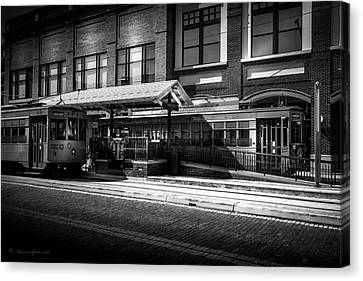 2016 Tampa Street Cars Canvas Print