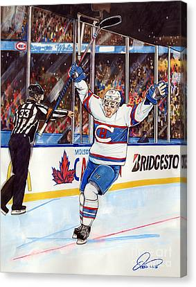 2016 Winter Classic Canvas Print by Dave Olsen