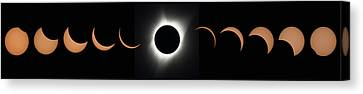 Totality Canvas Print - 2017 Total Solar Eclipse by Nasa