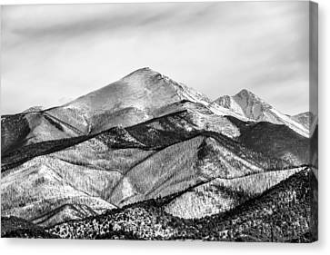 201702180-001k Snowy Mountains 2x3 Canvas Print