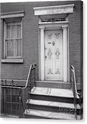204 West 13th Street Canvas Print by Lionel F Stevenson