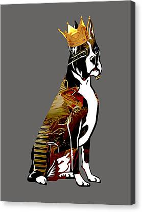 Boxer Collection Canvas Print