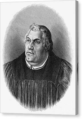Martin Luther (1483-1546) Canvas Print by Granger