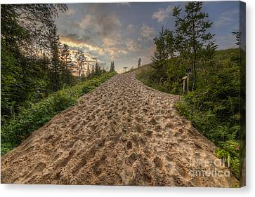 National Lakeshore Canvas Print - Sleeping Bear Point Trail by Twenty Two North Photography