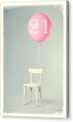 21th Birthday Canvas Print by Edward Fielding