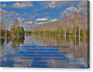 22- An Angel's Breath Canvas Print by Joseph Keane