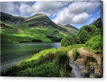 Buttermere Canvas Print by Nichola Denny