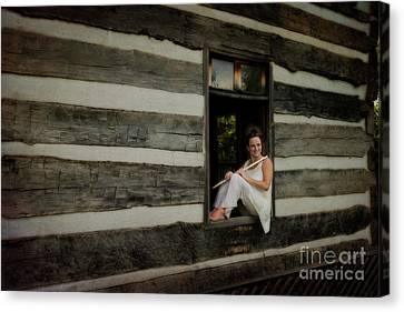Nina Assimakopoulos Canvas Print by Dan Friend