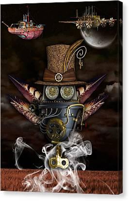 Steampunk Art Canvas Print