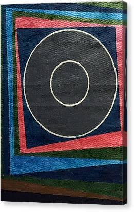 Circle Group Canvas Print by Hang Ho