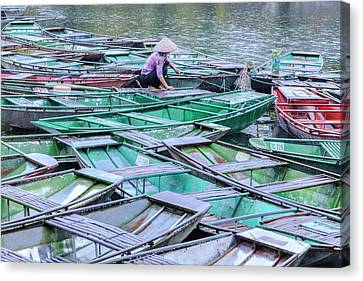 Ninh Binh - Vietnam Canvas Print by Joana Kruse