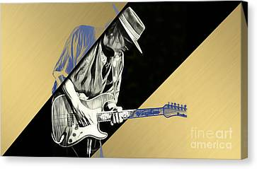 Stevie Ray Vaughan Collection Canvas Print