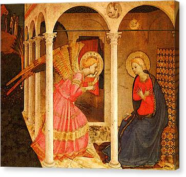 Fra Angelico  Canvas Print by Fra Angelico