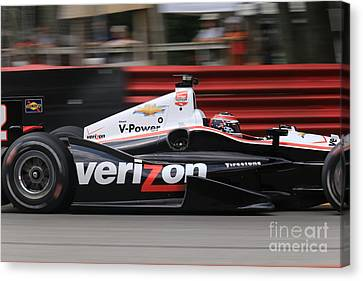 Indianapolis 500 Indycar Racing Canvas Print by Douglas Sacha