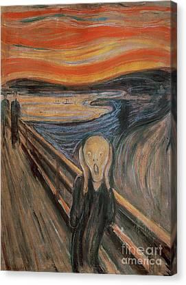 Edvard Munch The Scream Canvas Fine Art Print Framed Picture