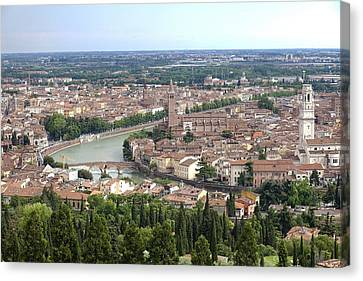 Verona Canvas Print by Andre Goncalves