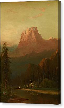 Schafer Oil On Board, Canvas Print