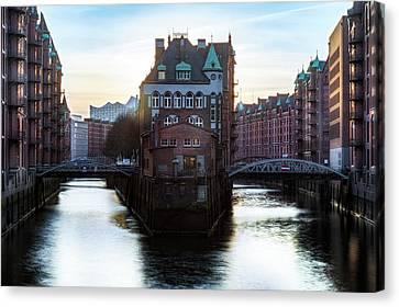 Hamburg - Germany Canvas Print by Joana Kruse