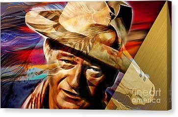 John Wayne Collection Canvas Print