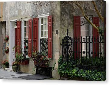 25 Queen St Canvas Print by Ed Waldrop