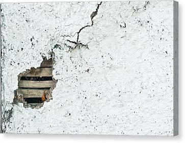 Asbestos Canvas Print - Stone Wall by Tom Gowanlock