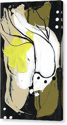 Three Color Palette Canvas Print by Michal Mitak Mahgerefteh