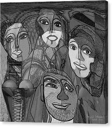 256 - Nice People Canvas Print