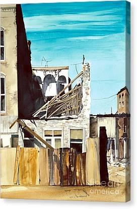 25th. Street Canvas Print