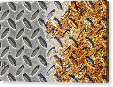 Rusty Metal Canvas Print