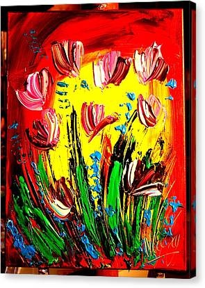 Tulips Canvas Print by Mark Kazav