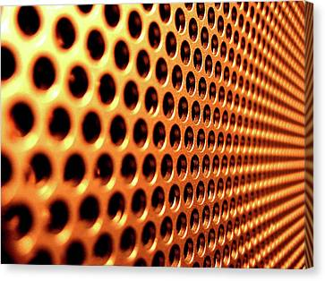 Meshed Canvas Print - 26060 Miscellaneous Meshed Metal by Anne Pool