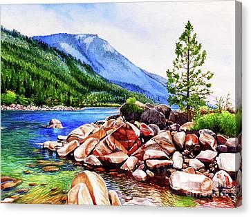 #262 Crystal Bay 1 Canvas Print by William Lum