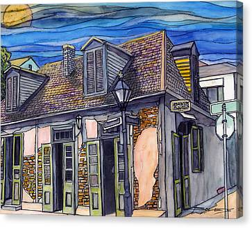 27 Lafitte's Blacksmith Shop Canvas Print by John Boles