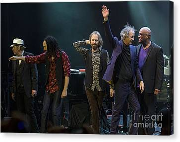 Heartbreaker Canvas Print - Tom Petty And The Heartbreakers by David Oppenheimer