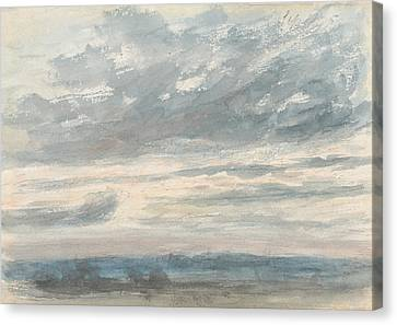 Constable Canvas Print - Cloud Study by John Constable