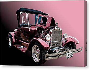 28 Ford Canvas Print by Jim  Hatch