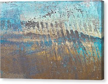 Metal Background Canvas Print