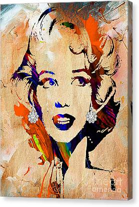 Marilyn Monroe Collection Canvas Print