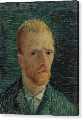 Van Goghs Ear Canvas Print - Self-portrait by Vincent van Gogh