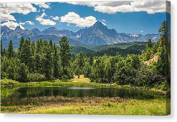 #2933 - Sneffles Range, Colorado Canvas Print