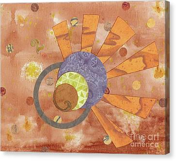 Canvas Print featuring the mixed media 2life by Desiree Paquette