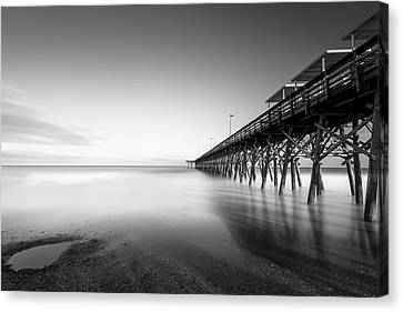 2nd Ave Pier Sunset Canvas Print by Ivo Kerssemakers