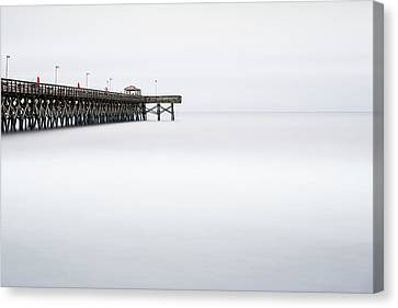 2nd Avenue Pier Sunrise Canvas Print by Ivo Kerssemakers