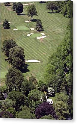 2nd Hole Philadelphia Cricket Club St Martins Golf Course Canvas Print by Duncan Pearson