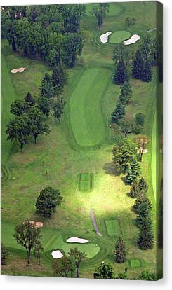 2nd Hole Sunnybrook Golf Club 398 Stenton Avenue Plymouth Meeting Pa 19462 1243 Canvas Print by Duncan Pearson